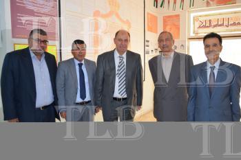 رئيس مجلس أمناء جامعة إربد الأهلية يشارك بحضور مناقشة رسائل